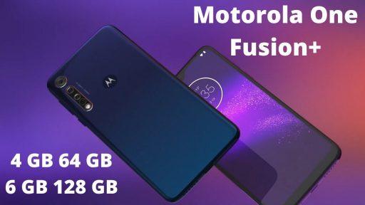 مراجعة سريعة لهاتف +Moto One Fusion من موتوريلا
